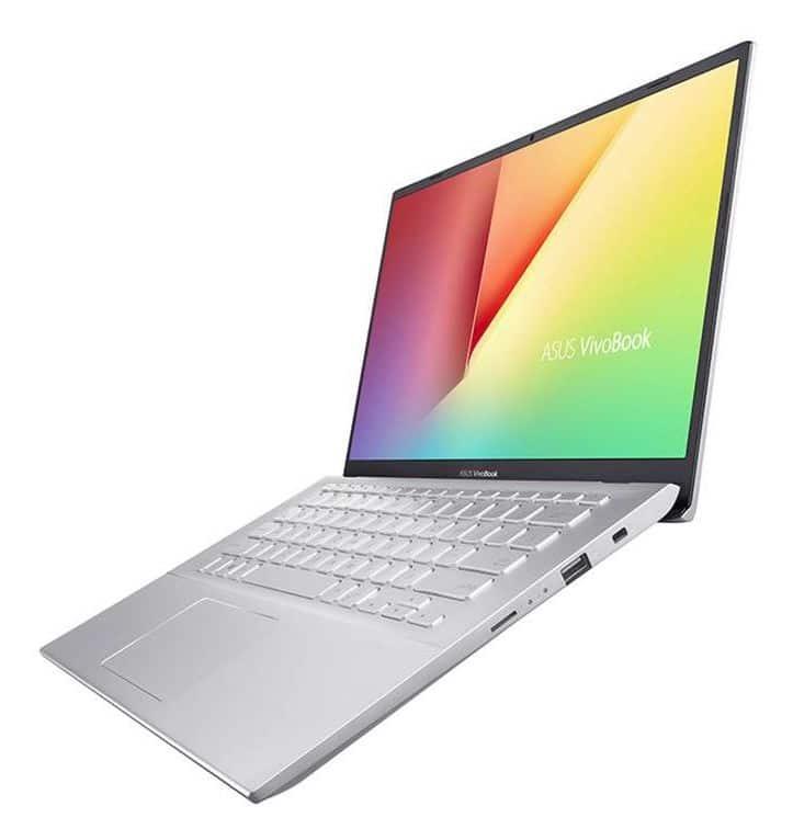 """Asus VivoBook S412UA-EK033T, 14"""" compact bureautique (599€)"""