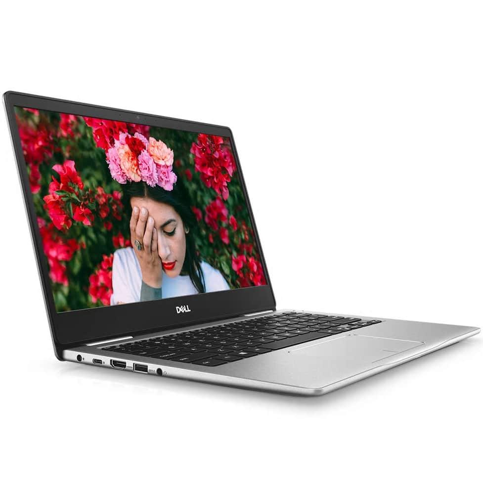 """Dell Inspiron 13 7380, Ultrabook 13"""" argent rapide et léger (909€)"""