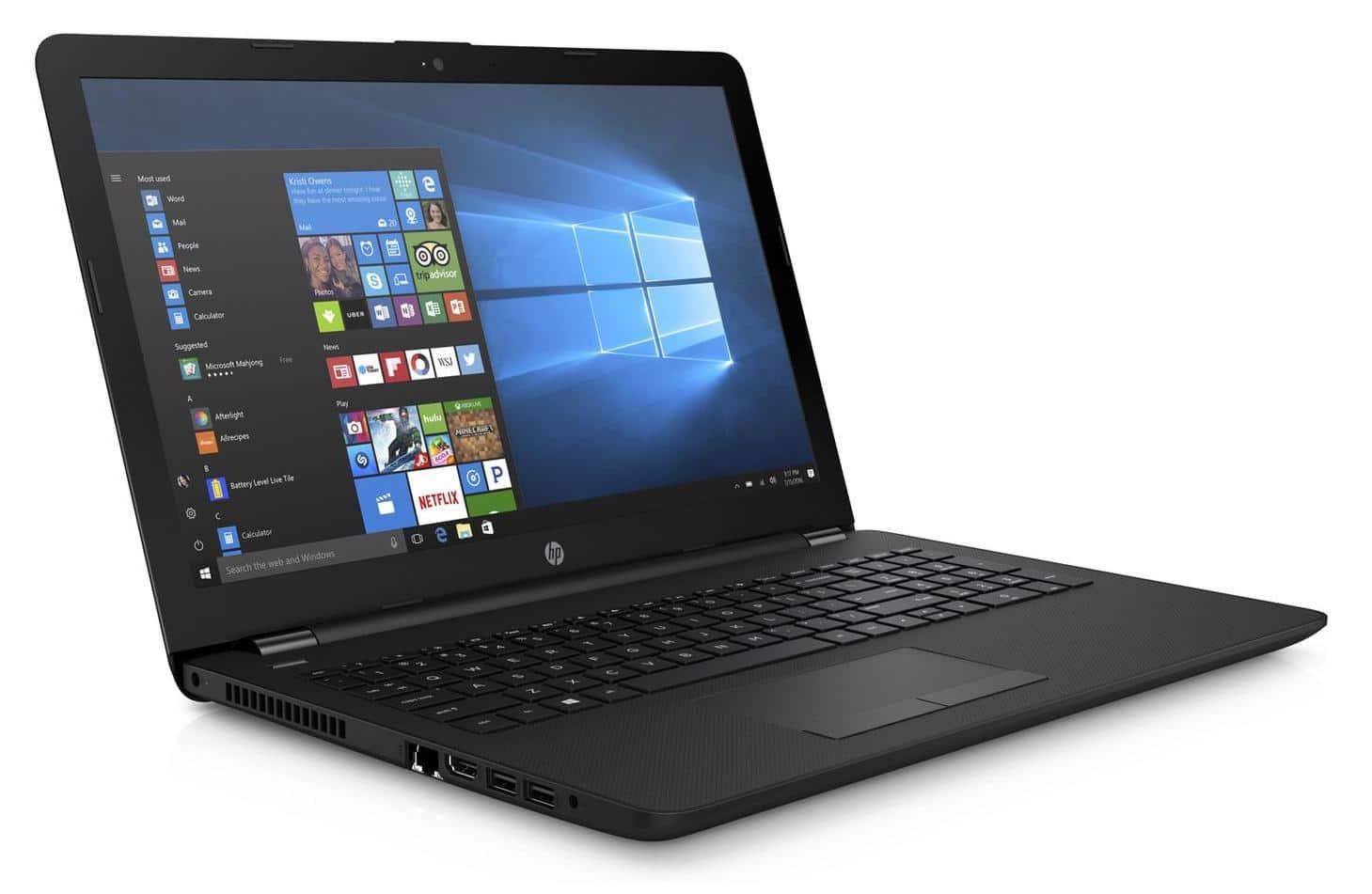 HP 15-db0023nf, PC portable pas cher avec SSD et 8 Go (472€)