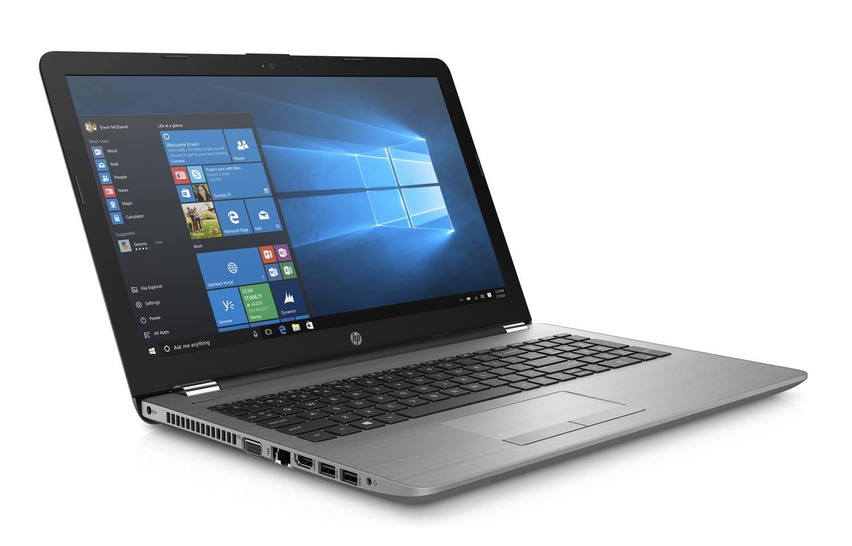 """HP 250 G6, PC portable 15"""" léger Windows 10 Pro lecteur DVD (453€)"""
