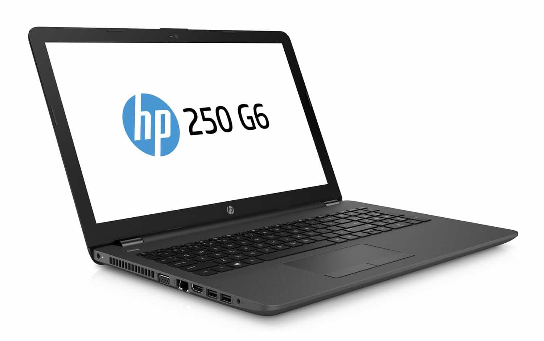 """HP 250 G6, portable 15"""" bureautique DVD léger pas cher (256€)"""