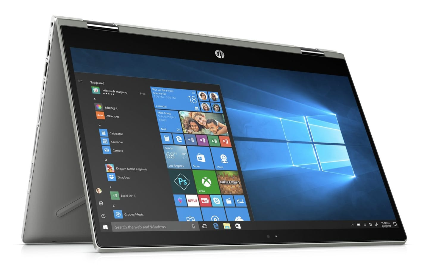 "HP Pavilion x360 14-cd0013nf, 14"" Tablette multimédia (959€)"