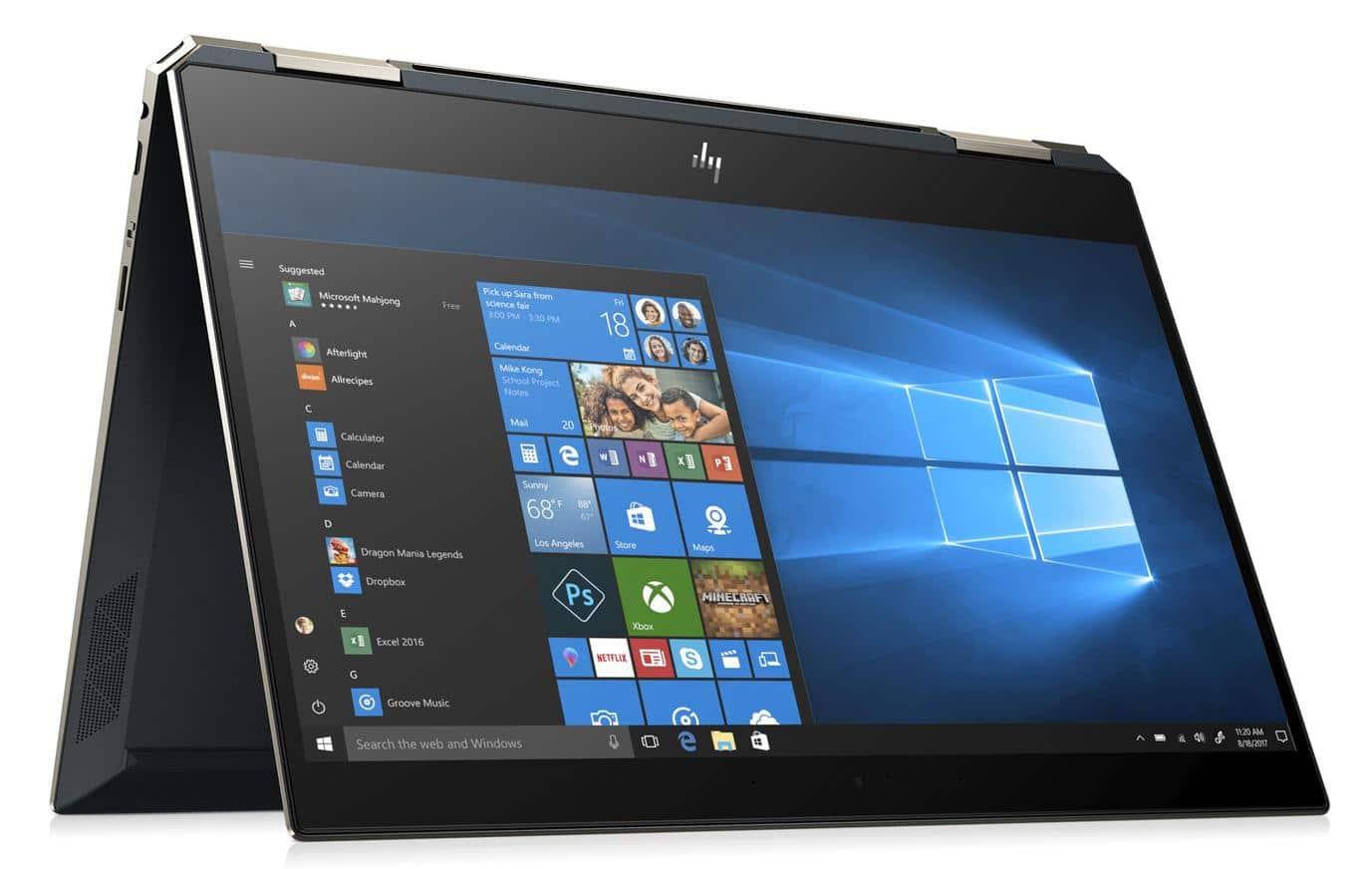"""HP Spectre x360 13-ap0004nf, 13"""" tablette tactile 4K TB3 (1298€)"""