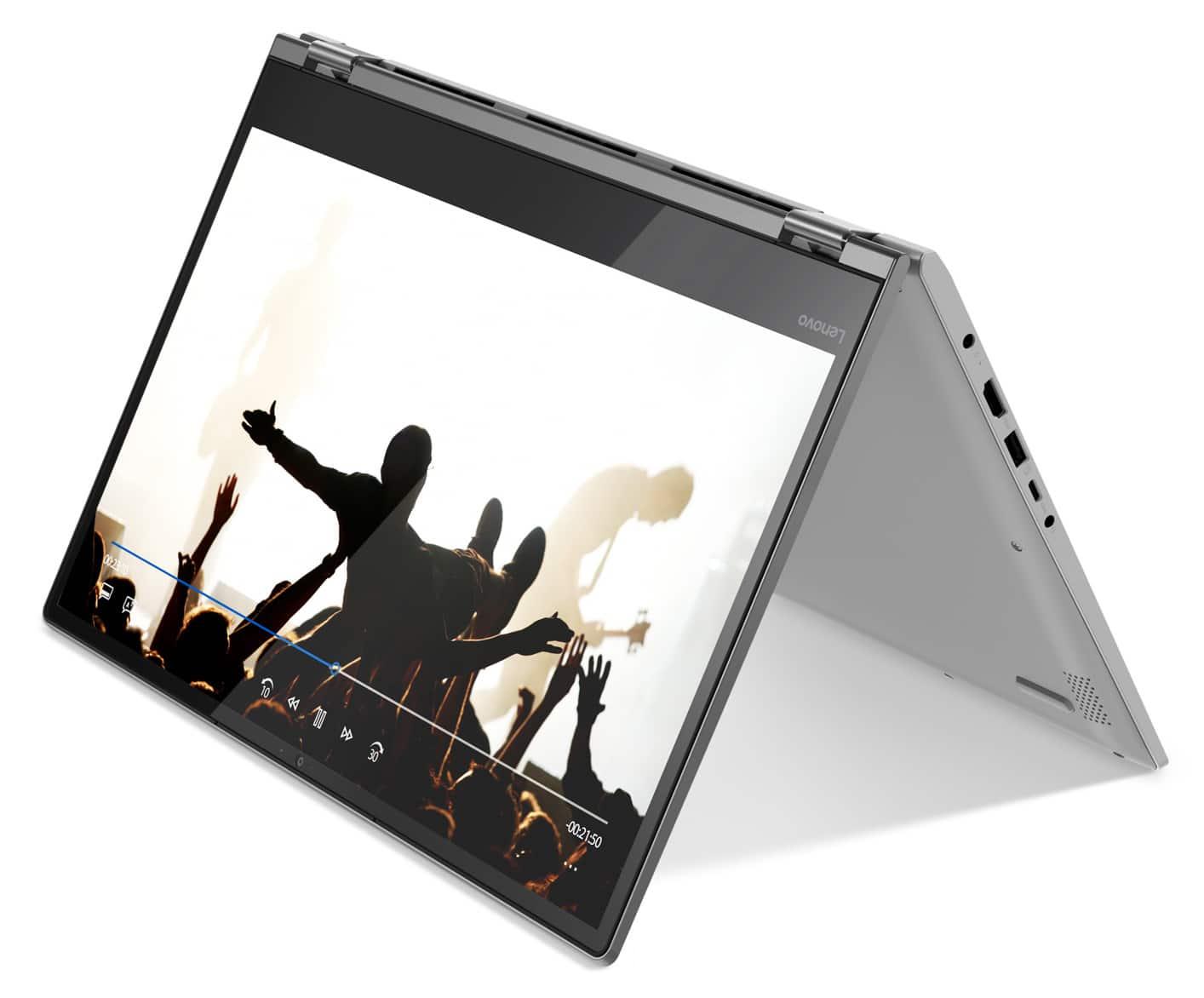 "Lenovo Yoga 530-14IKB, 14"" tactile tablette bureautique (539€)"