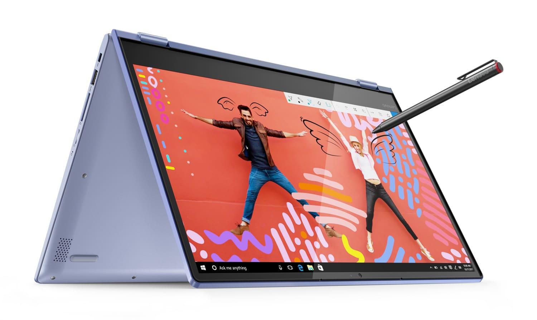 "Lenovo Yoga 530-14IKB, 14"" tactile tablette Bleu réactif (759€)"