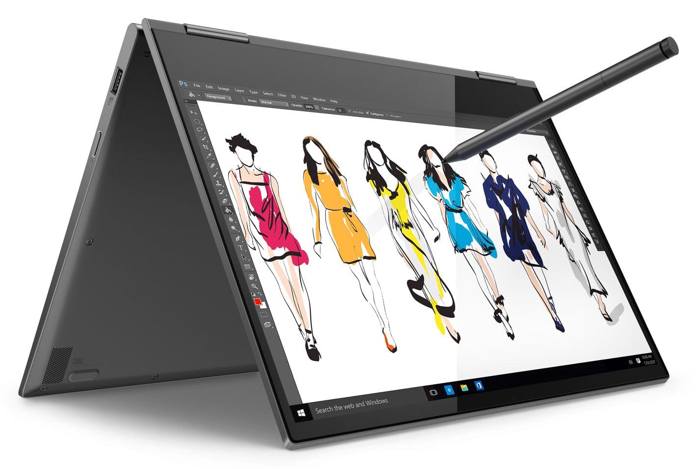 """Lenovo Yoga 730-13IWL, 13"""" Tablette bonne autonomie TB3 (899€)"""
