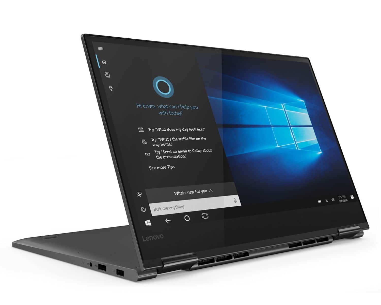"Lenovo Yoga 730-15IWL, Ultrabook 15"" Tablette GTX rapide (1259€)"