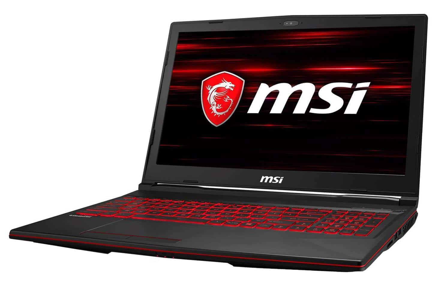 "MSI GL63 8RE-824FR, PC portable gamer 15"" réactif (1109€)"