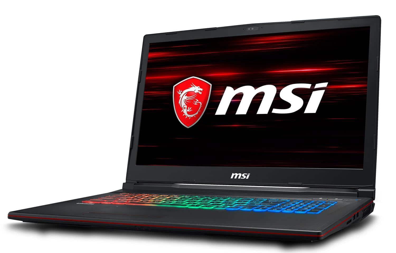 MSI GP73 8RF-675XFR, PC jeu intensif 17 pouces (1299€)