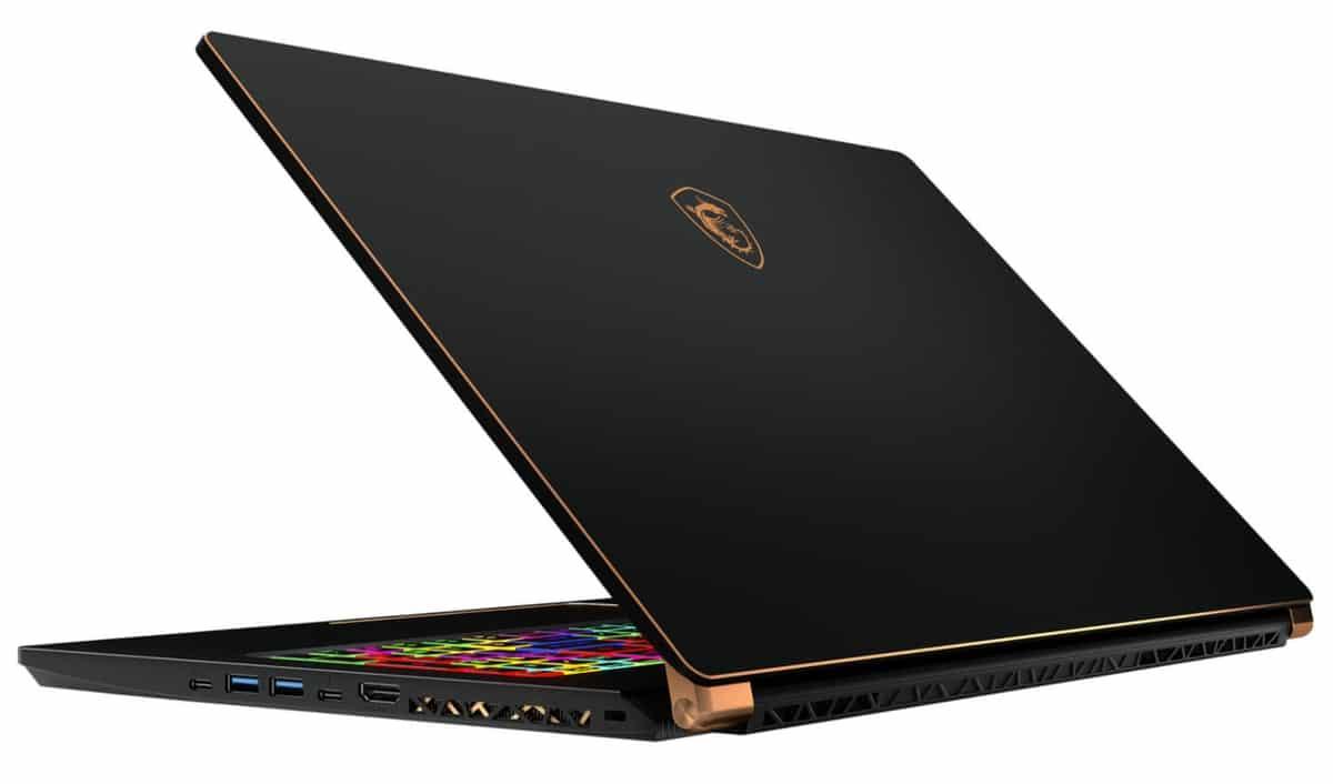 "MSI GS75 8SF-083FR, Ultrabook 17"" gamer RTX 2070 (2189€)"