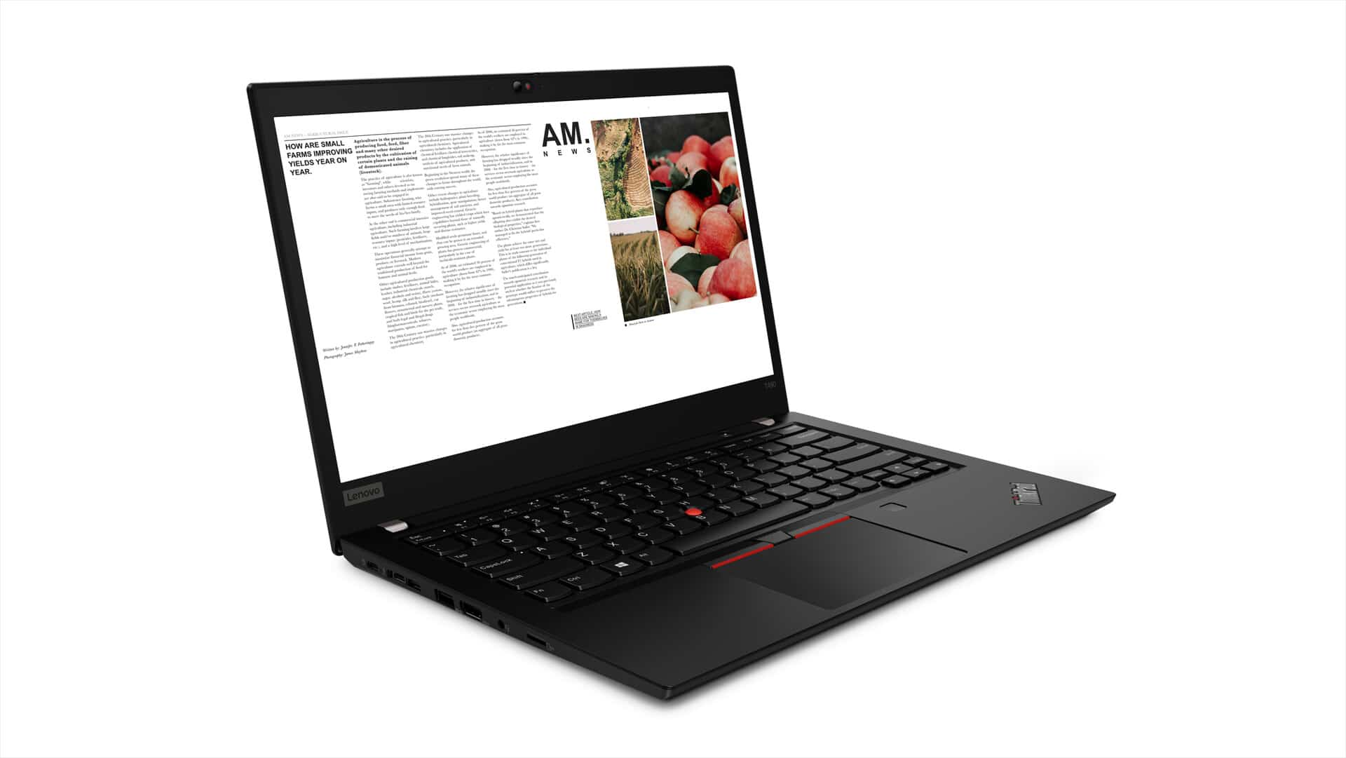 "<span class=""tagtitre"">MWC19 - </span>Lenovo ThinkPad T490(s) et T590, Ultrabook Pro 20h MX250"
