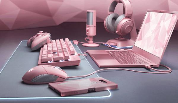 Razer Blade Steath Quartz Pink