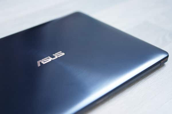 Test Asus ZenBook Pro 15 UX580 Design