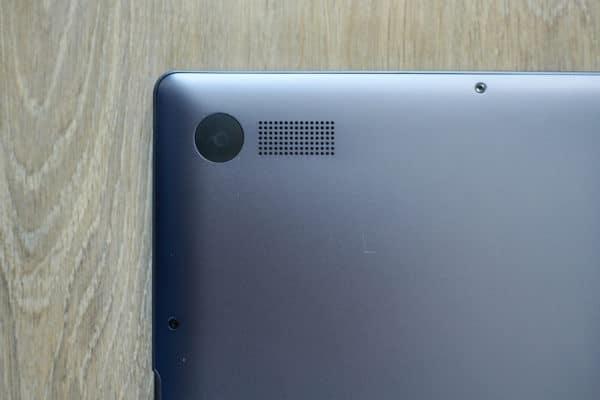 Test Huawei MateBook 13 Haut parleur