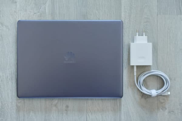 Test Huawei MateBook 13 chargeur USB-C