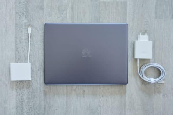Test Huawei MateBook 13 Accessoires