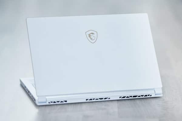 MSI Prestige P65 Creator Blanc