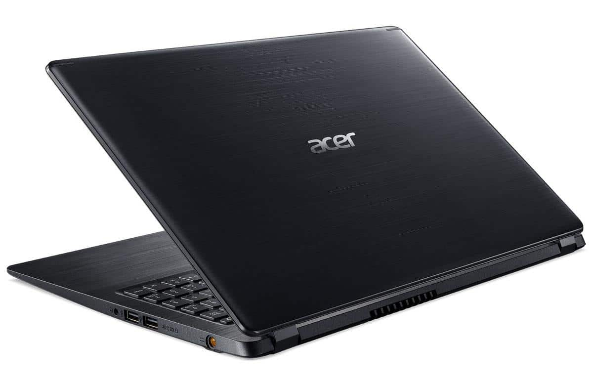 "Acer Aspire A515-52-56CT, PC portable fin 15"" rapide (629€)"