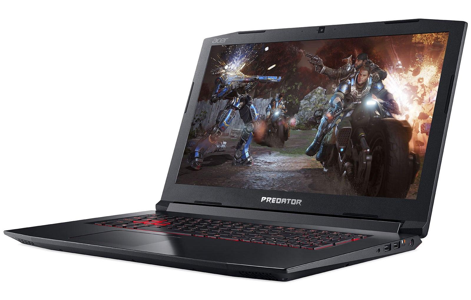 "Acer Predator PH317-52-76Q9, gamer 17"" puissant (1359€)"
