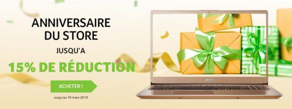 Acer Store Réductions