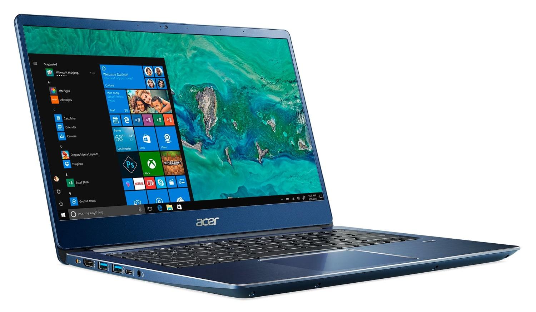 """Acer SF314-56-37ST, Ultrabook 14"""" bleu Turbo rapide léger (539€)"""