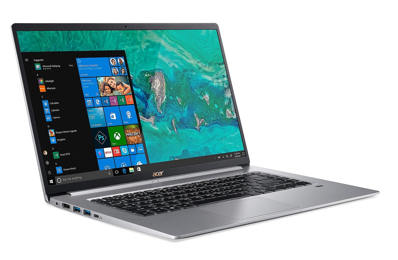 """Acer SF515-51T-54AF, Ultrabook 15"""" léger 1Kg rapide 10h (849€)"""