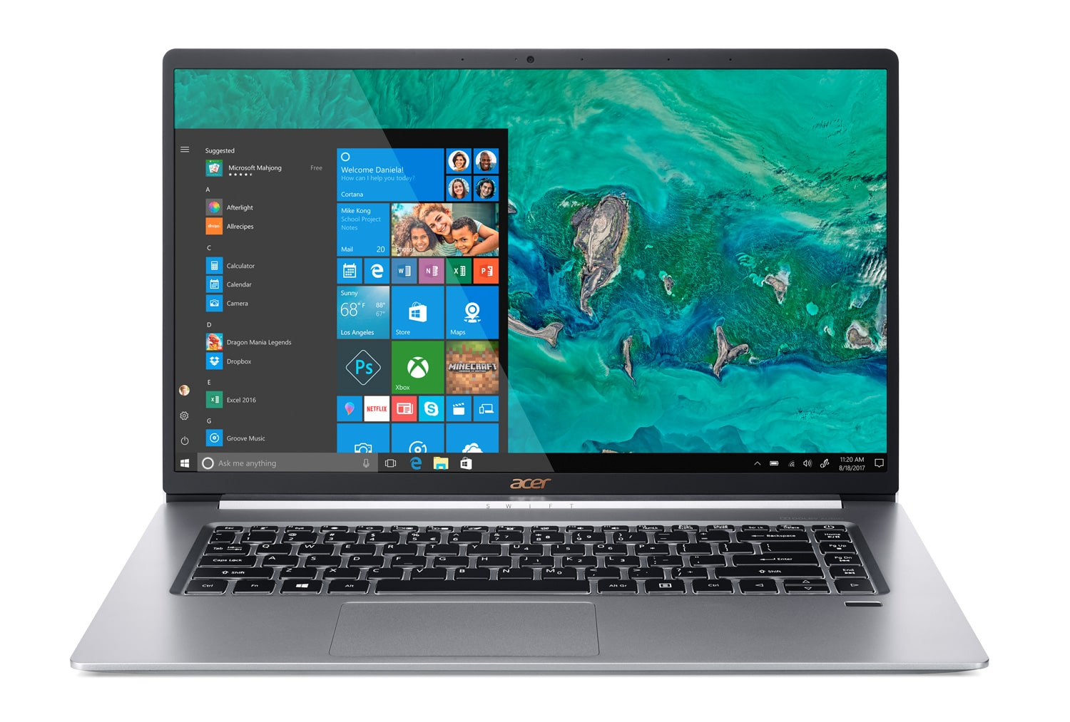 "Acer SF515-51T-79DN, Ultra 15"" tactile rapide 1 Kg (-100€) (1019€)"