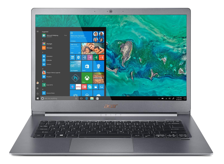 Acer Swift SF514-53T-51L3, ultrabook 14 pouces tactile léger (849€)