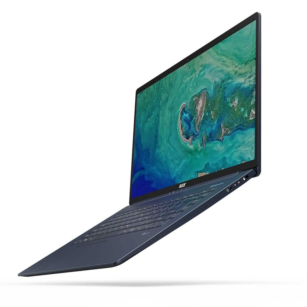 """Acer Swift SF515-51T-5065, 15"""" bleu tactile moins de 1 kg (1199€)"""