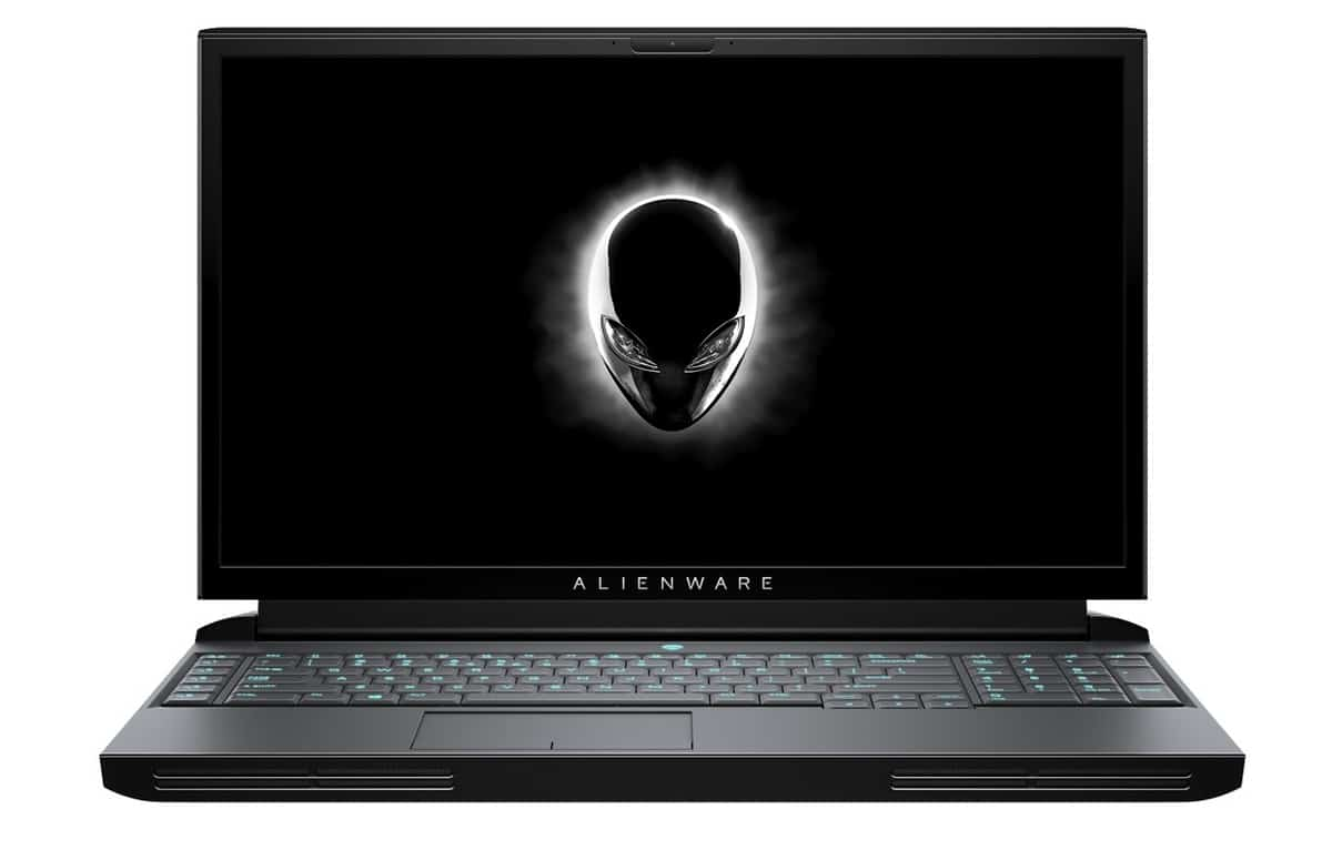 "Alienware Area-51M, PC portable 17"" gamer GeForce RTX et Octo Core"