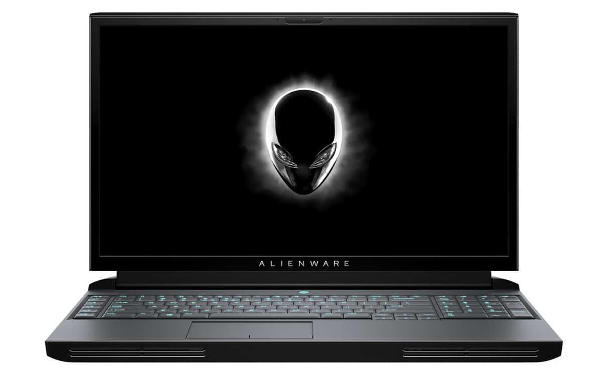 "Alienware Area-51M, PC portable 17"" gamer GeForce RTX et Octo Core"