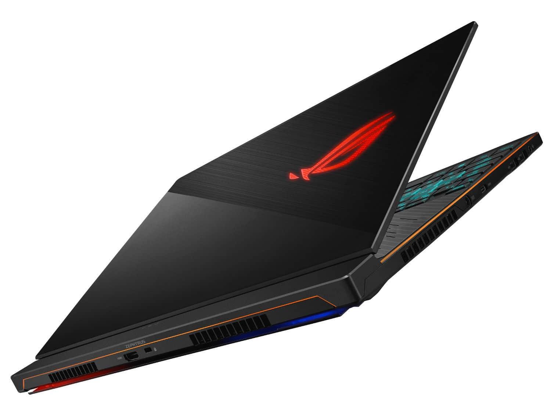 """Asus GX535GX-ES034R, Ultra 15"""" gamer RTX 2080 léger (1649€)"""