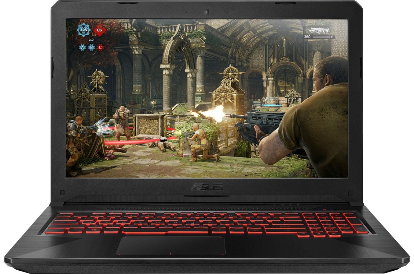"""Asus TUF FX504GD-DM1244T, PC portable 15"""" polyvalent (849€)"""