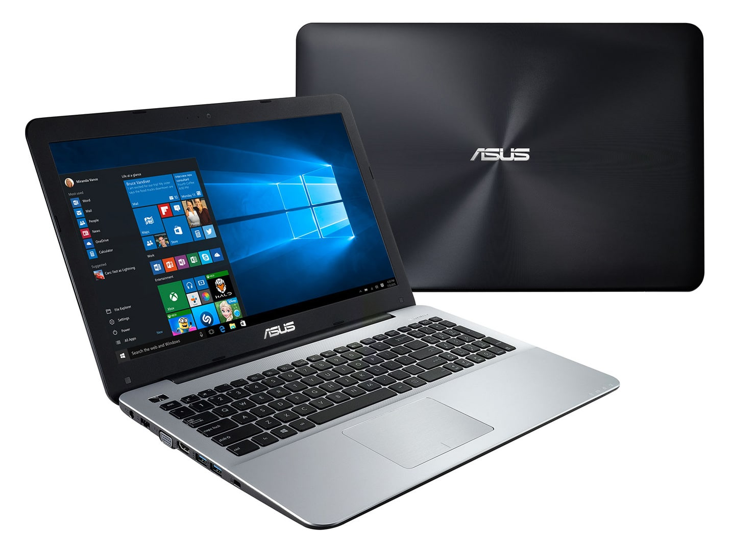 Asus X555QA-DM219T, PC portable 15 pouces rapide (399€)