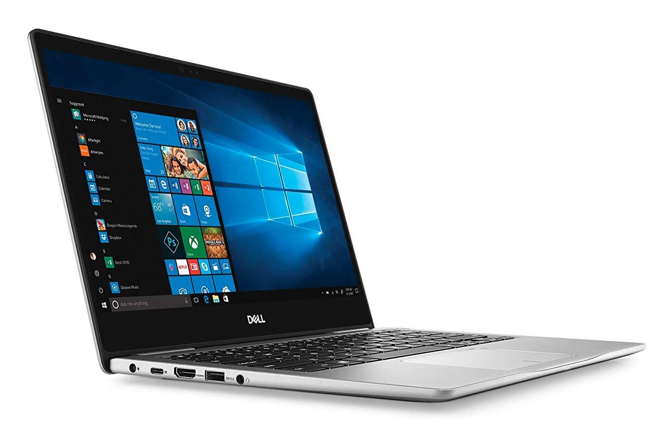 """Dell Inspiron 7380, Ultrabook 13"""" argent léger et rapide (499€)"""