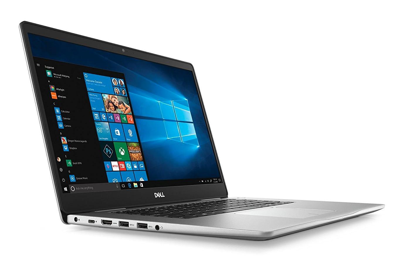 "Dell Inspiron 15 5580, Ultrabook 15"" argent léger rapide (549€)"
