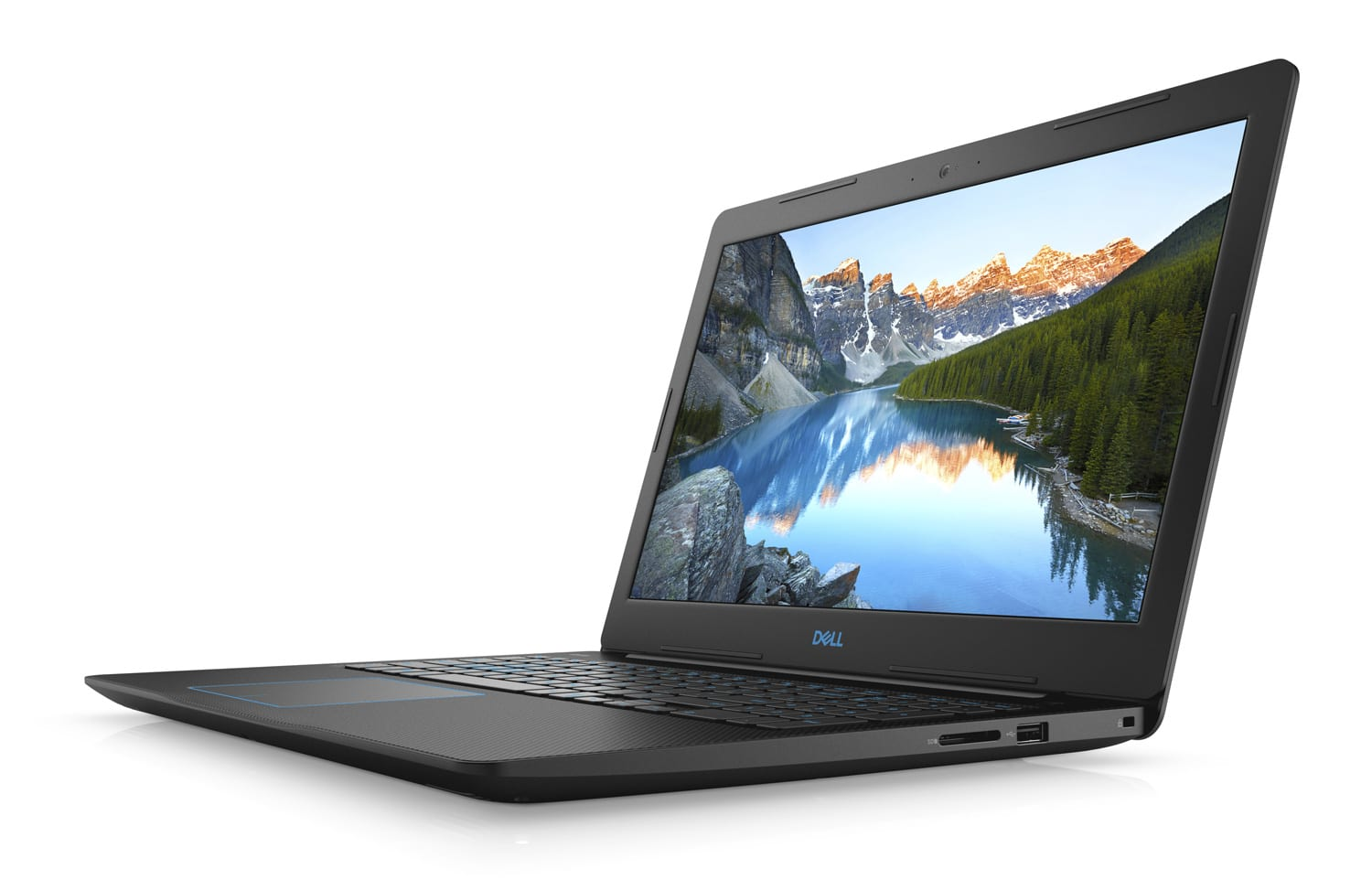 "Dell Inspiron G3 15 3579, PC portable 15"" gamer rapide noir (989€)"