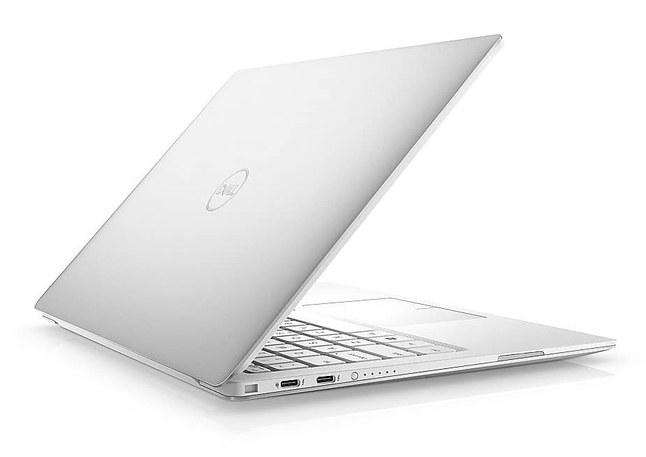 "Dell XPS 13 9380, ultrabook borderless blanc 13"" (1530€)"