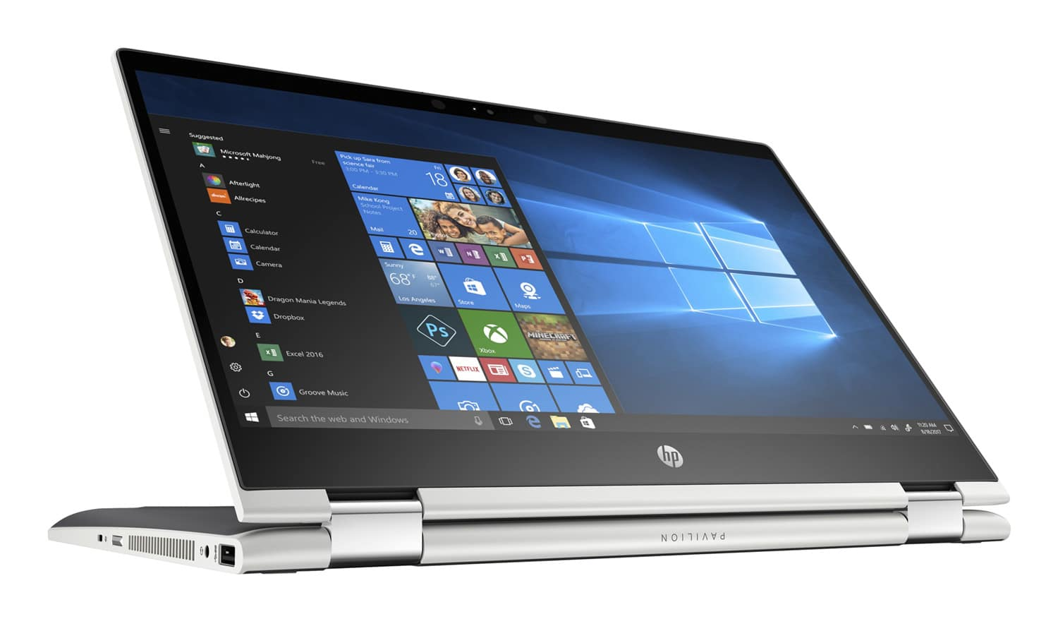 "HP Pavilion x360 14-cd1005nf, Ultrabook 14"" Tablette Turbo (599€)"