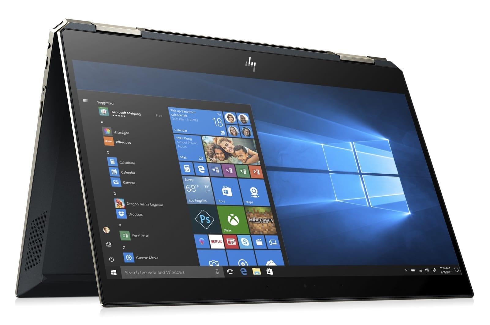"""HP Spectre 13-ap0008nf, 13"""" bleu bonne autonomie (1614€)"""