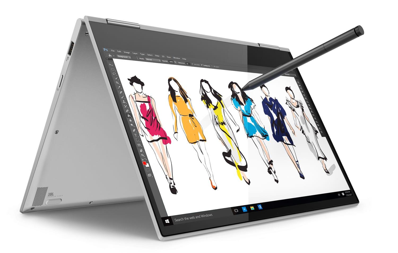 """Lenovo Yoga 730-13IWL, PC tablette 13"""" bonne autonomie (999€)"""