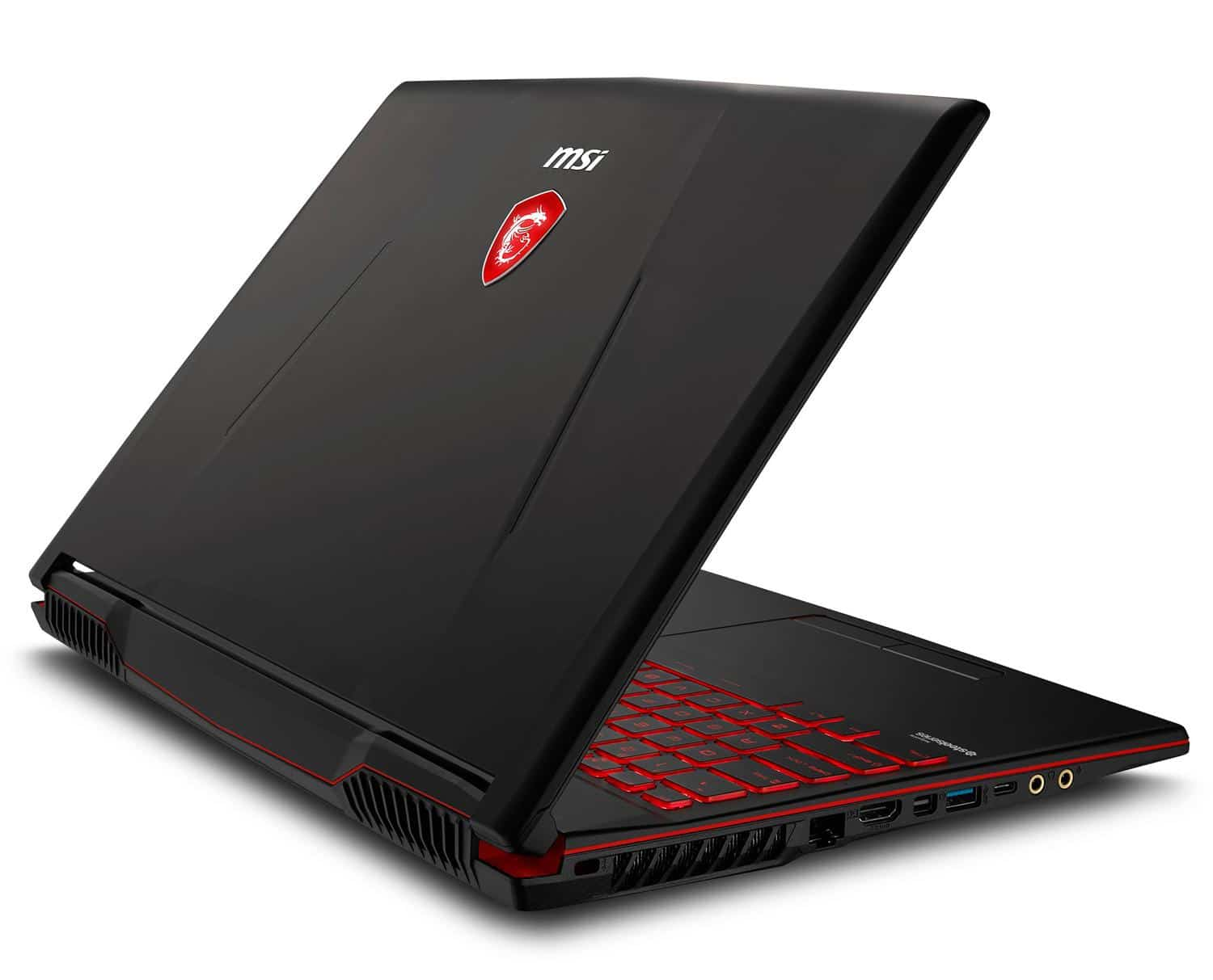 "MSI GL63 8RE-827FR, PC portable gamer 15"" réactif (1159€)"