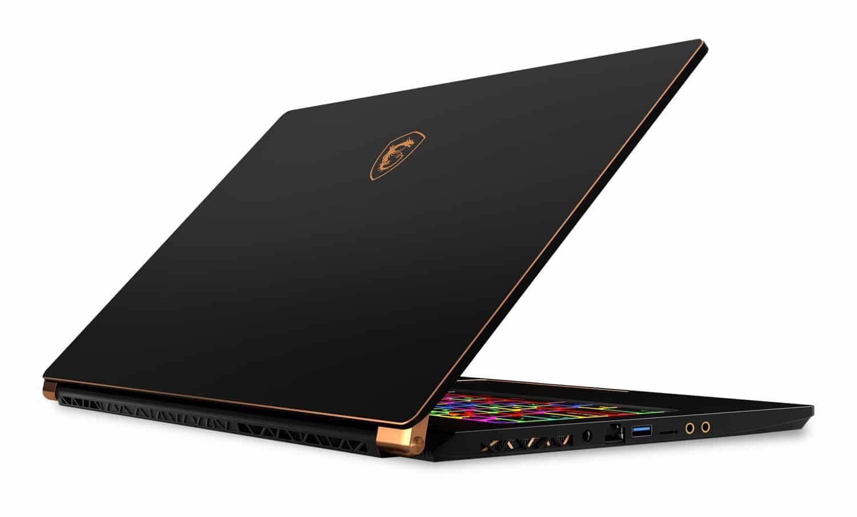"MSI GS75 8SE-082, Ultrabook 17"" gamer RTX 2060 léger (2039€)"