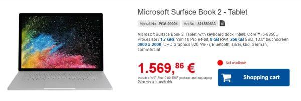 Microsoft Surface Book 2 Core i5-8350U