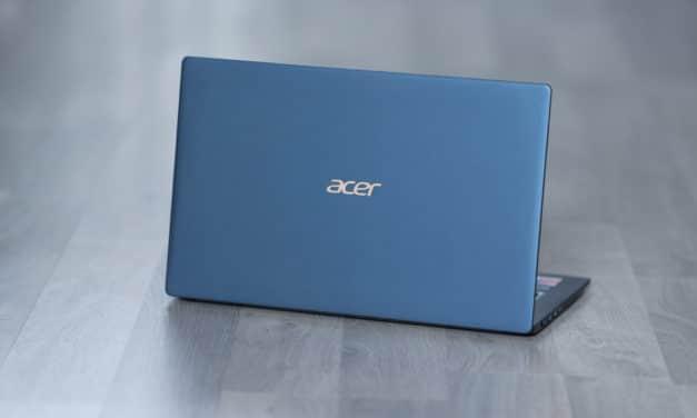 """<span class=""""tagtitre"""">Test de l'Acer Swift 5 SF515-51T - </span>Le plus léger des ultrabook 15 pouces !"""