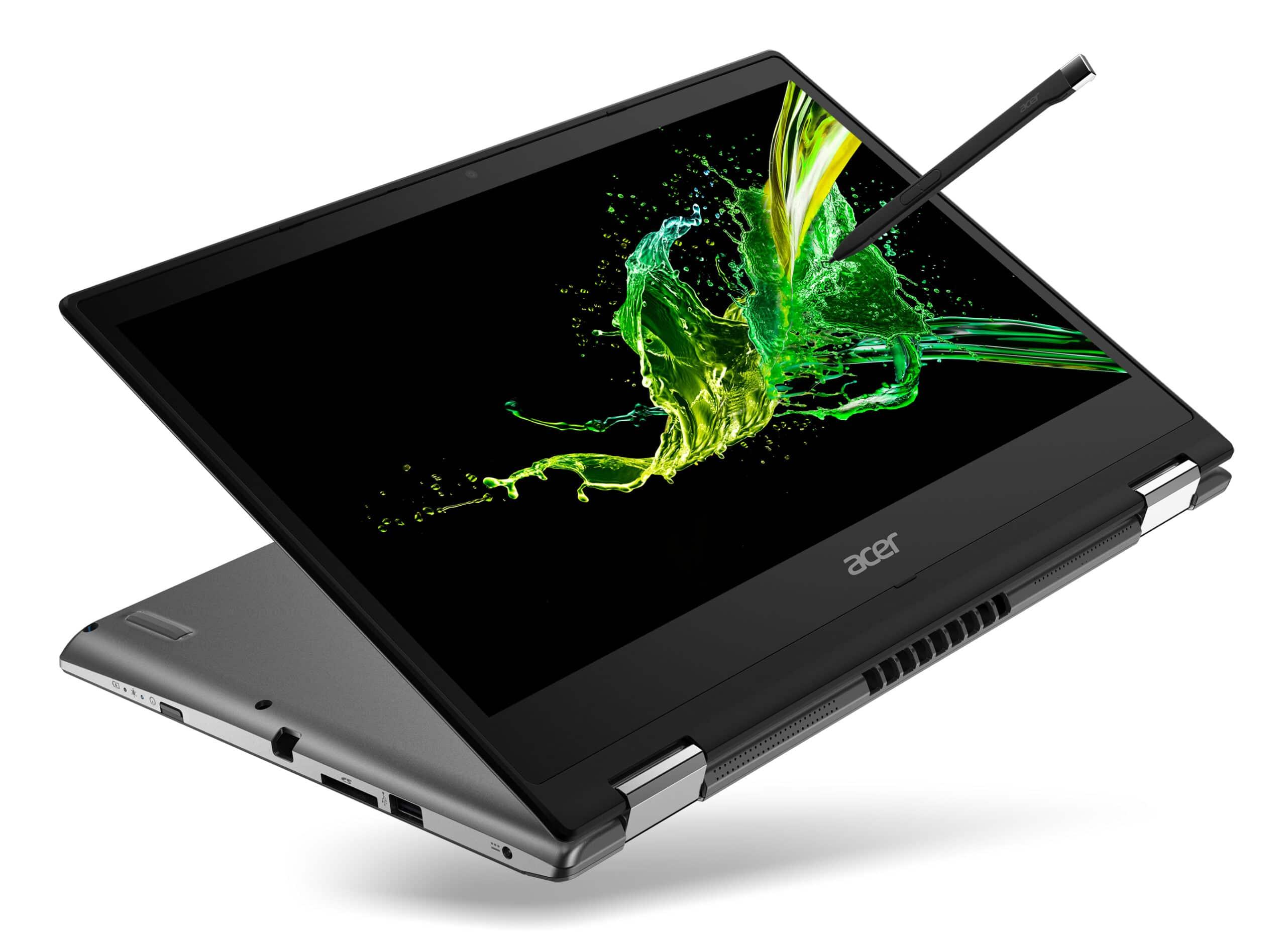 """Acer Spin 3, nouveau convertible 14"""" avec stylet intégré"""