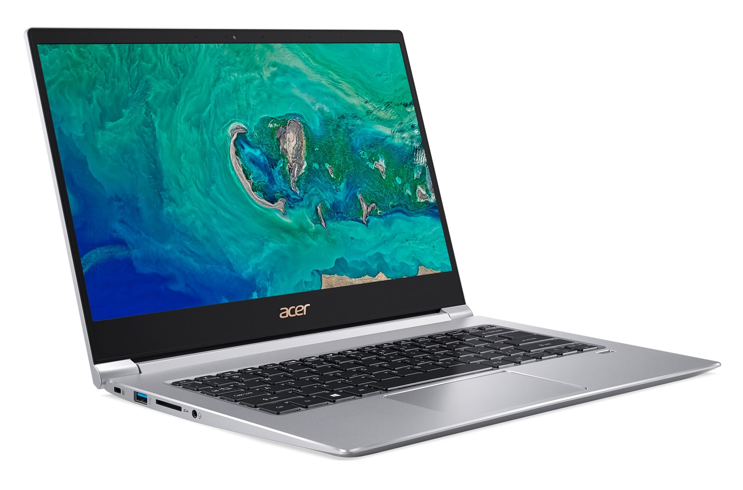 Acer Swift SF314-55-73F4, 14 pouces léger borderless (899€)