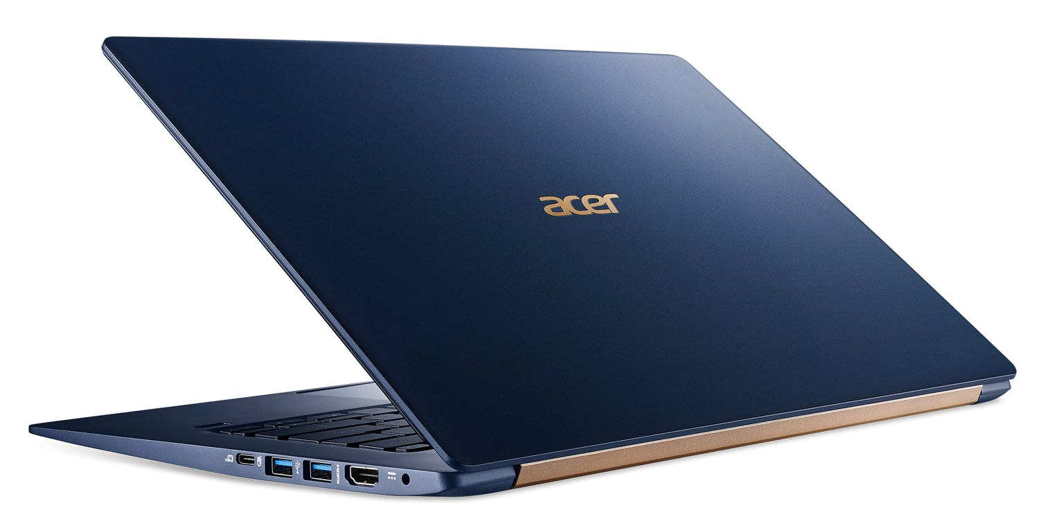 Acer Swift SF514-53T-58PJ, ultrabook 14 pouces bleu tactile (899€)
