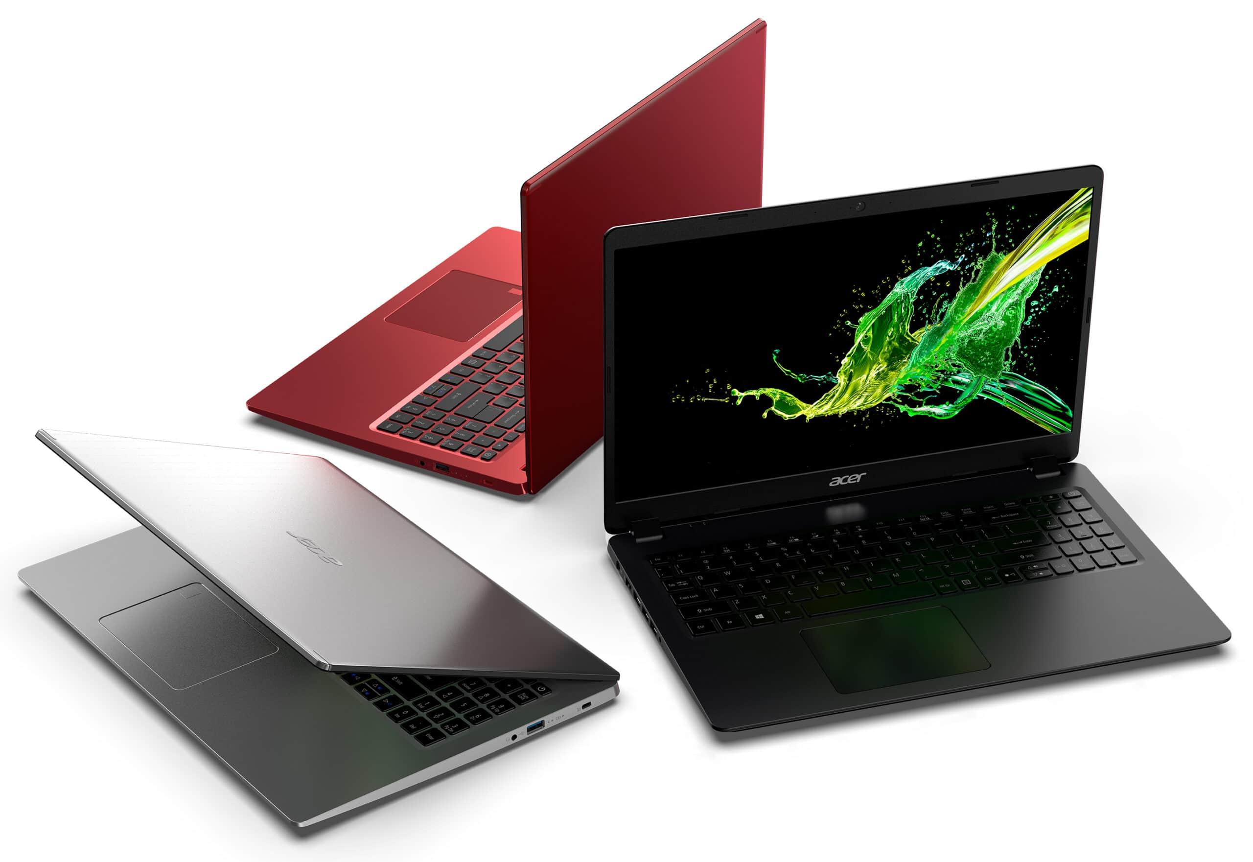 Acer dépoussière sa gamme Aspire : écran borderless et polyvalence
