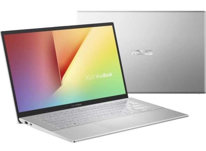 """Asus VivoBook S412FA-EK065T, 14"""" compact puissant (655€)"""
